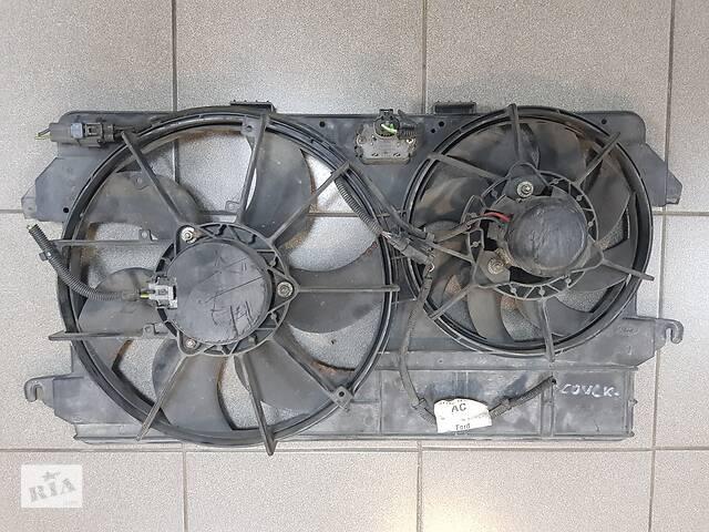 продам Б/у вентилятор радиатора кондиционера дифузор Ford Transit Connect 1.8DI TDCI 2002-2013 оригинал привезены с Германии бу в Решетилівці