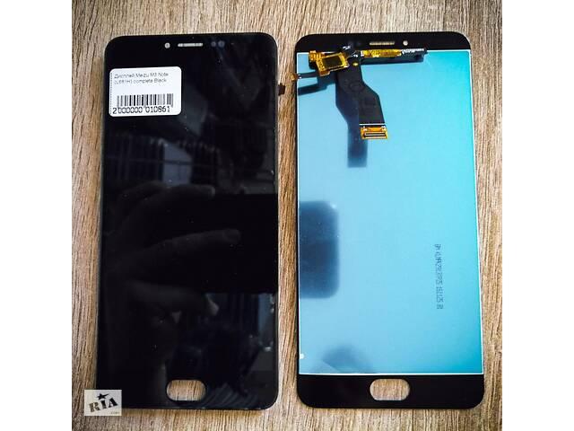 купить бу Дисплей Meizu M3 Note (L681H) complete Black в Черновцах