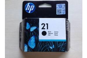 Картридж струйный HP 21 C9351AE 5ml black черный