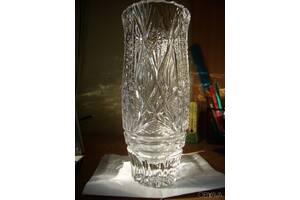 Большие тяжелые хрустальные вазы, ссср