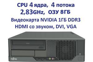 4 ядра 8Gb RAM Видеокарта 1 гб Системный блок Fujitsu Esprimo /SFF