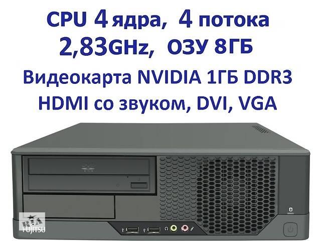 4 ядра 8Gb RAM Видеокарта 1 гб Системный блок Fujitsu Esprimo /SFF- объявление о продаже  в Полтаве