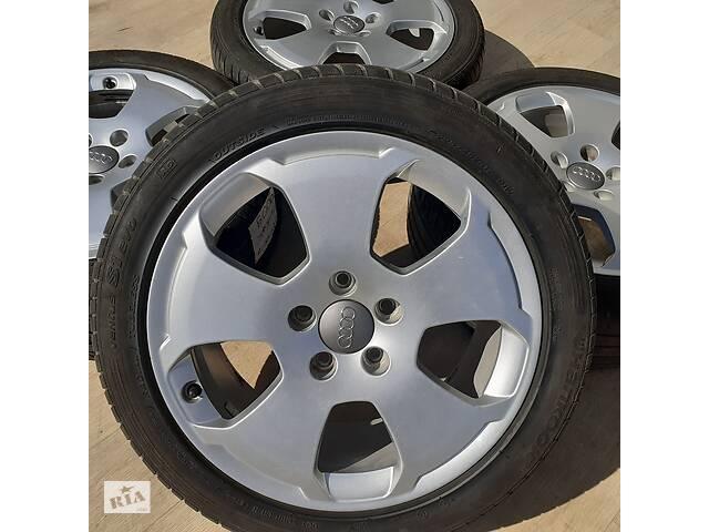 продам Диски + шини Audi R17 5x112 7,5j et56 A3 Skoda Octavia Superb VW Golf Jetta Seat бу в Львове