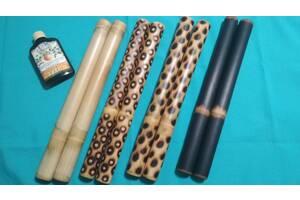 Бамбукові палички для масажу, Креольський масаж, Масажні віники.