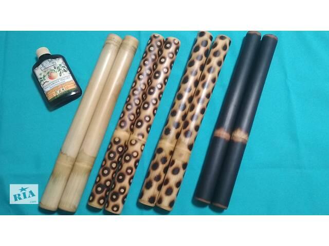 купить бу Бамбукові палички для масажу, Креольський масаж, Масажні віники. в Запоріжжі