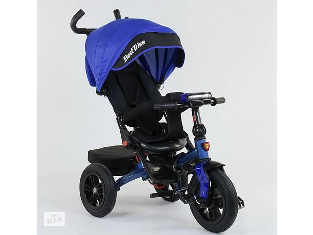 Детский трехколесный велосипед BEST TRIKE (фара, надувные колеса, поворот сидения)- объявление о продаже  в Славянске
