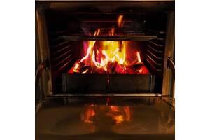 Печь хоспер на дровах