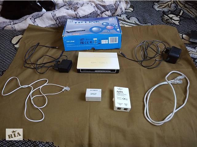 купить бу Продам роутеры ASUS RT-N10, TD-W8901N и TP-LINK TD-8810 в Херсоне