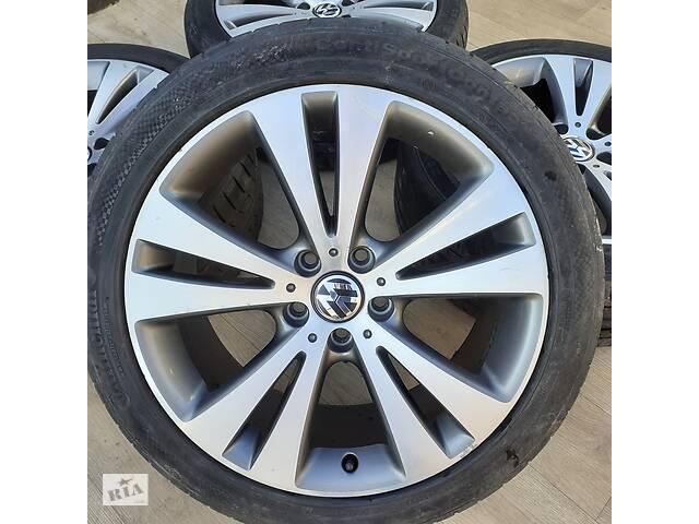 купить бу Диски VW R18 5x112 Audi A4 A6 Passat B7 B8 Sharan Tiguan Skoda Superb в Львове