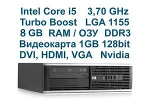 Intel Core i5 4 ядра 8Gb RAM Видеокарта 1 гб Системный блок HP /SFF