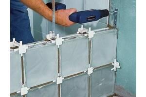 Крестик 5, 10, 2 мм для преподавания конструкций из стеклоблоков