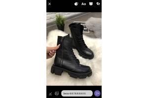 Жіночі шкіряні зимові чоботи 00654