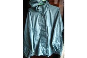 Куртка дождевик с капюшоном, голубая р. м л р. 175 подкладка п/э, торг