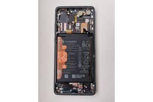 Дисплейный модуль, экран, дисплей для Huawei P30 Pro Black (VOG-L29) (orig)