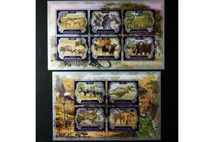 Красивые марки фауна Африки