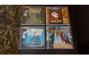 Нэнси Дрю- игры для Пк. Компьютерные диски