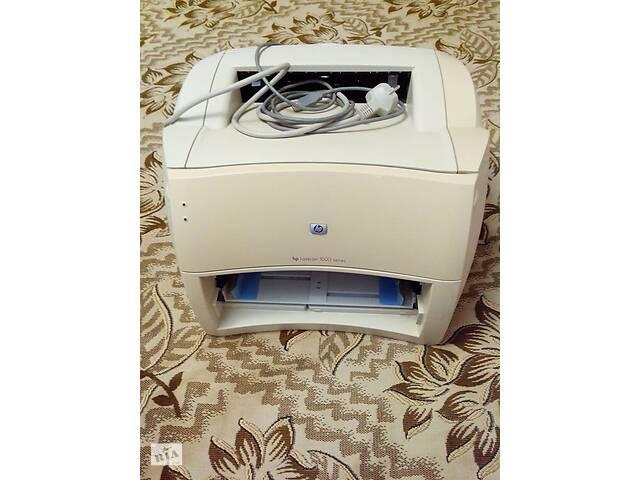 купить бу Продам лазерный принтер HP LaserJet 1000 в Николаеве