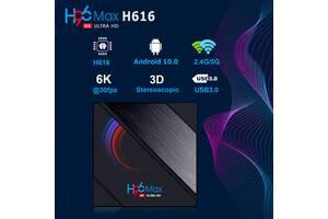 H96 MAX 2/16 приставка смарт тв бокс box андроид 10 x96 tx3 h96