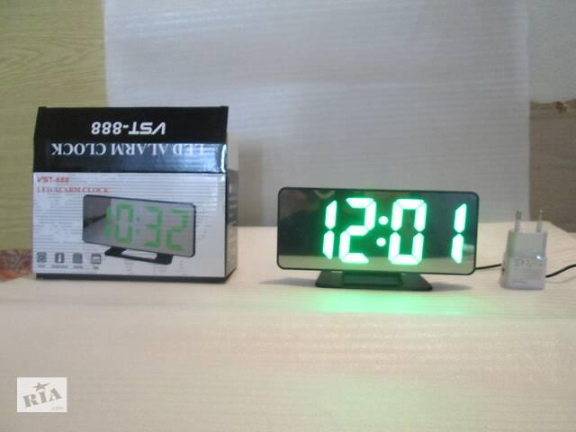 бу Часы настольные цифровой VST-888 (светодиодный - LED) новый в Львове
