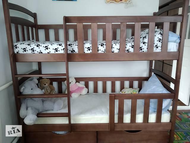 купить бу Детская двухъярусная кровать Карина-Люкс для детей и взрослых! в Киеве