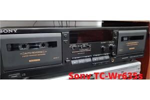 Кассетная  дека SONY TC-WR635S. Двух кассетная