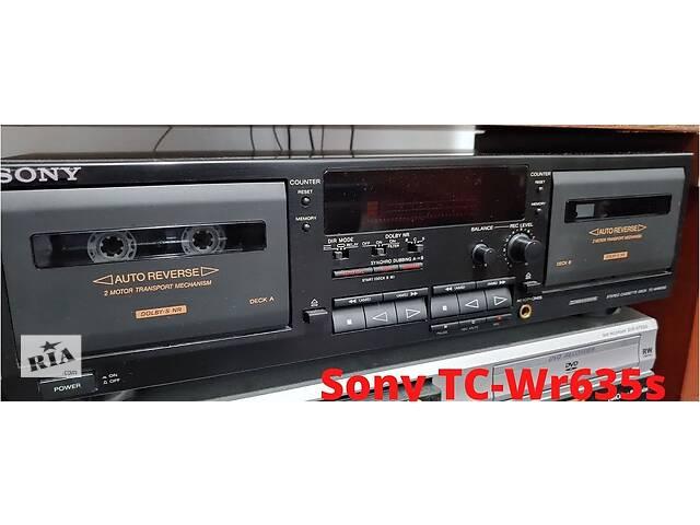 купить бу Кассетная  дека SONY TC-WR635S. Двух кассетная в Киеве