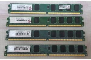 ОПЕРАТИВНАЯ ПАМЯТЬ 2GB TRANSCEND DDR2 800 DIMM