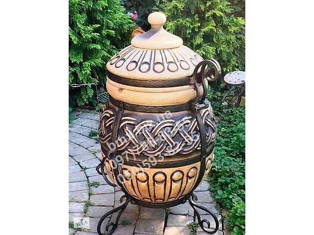 Печь-жаровня. Тандыр модель №1 (дизайн греческий). мангал- объявление о продаже  в Киеве