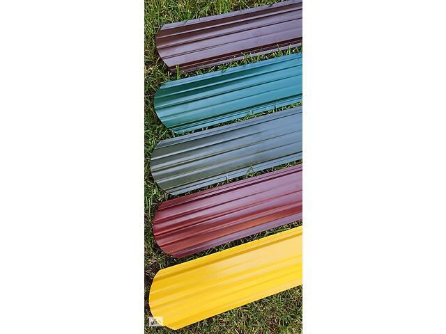 продам Штакетник 0,45мм Корея 113 мм 2ст. глянец 3005 красный Евроштакетник металлический штакетник штакеты бу в Виннице