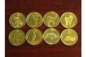 Красиві монети фауна - Червона книга України