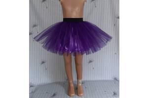 Детская юбочка из фатина, на резинке, без лент, модель № 113