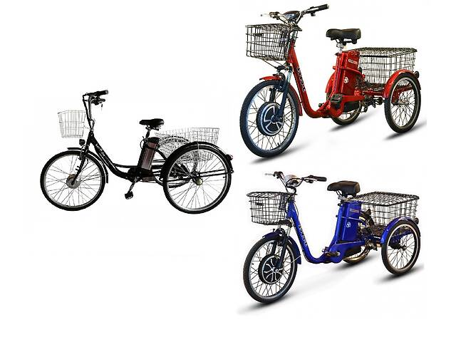 продам Электровелосипед дорожный трехколесный 26 Kelb.Bike 350W PAS Original бу в Сумах