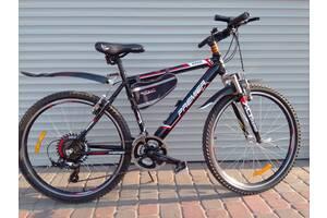 Новый алюминиевый велосипед в полном снаряжении.Рама 19 колеса 26