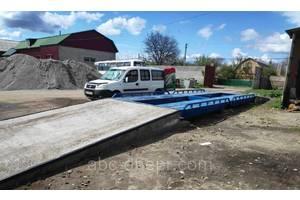 Автомобільні ваги 8 метрів 40 тонн