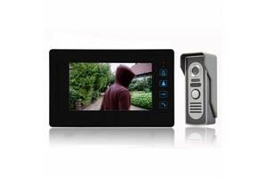 Домофон Gate WJ901RC8 Memory Card дверний інтерком з відео камерою
