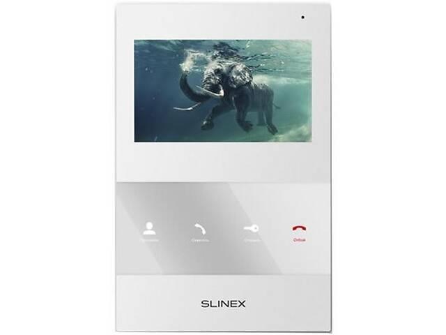 купить бу Видеодомофон Slinex SQ-04M_W в Киеве