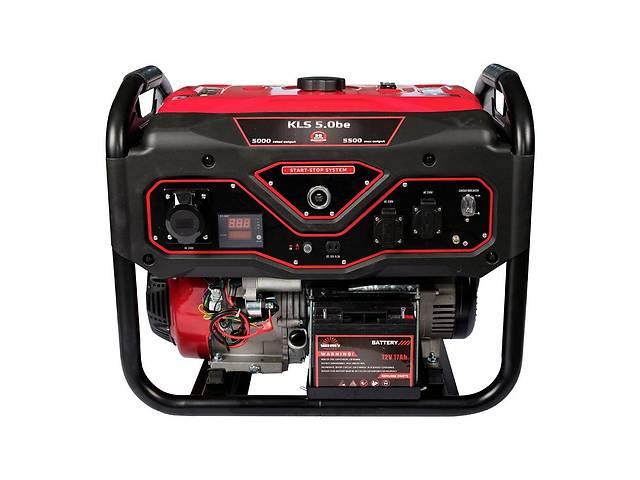 купить бу Генератор бензиновый Vitals Master KLS 5.0be в Дубно