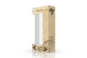 Картонная коробка-тубус 170х90х355 мм