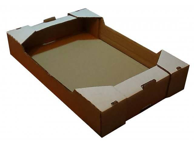 Клубничный лоток, гофролоток для клубники, клубничный ящик- объявление о продаже  в Запорожье