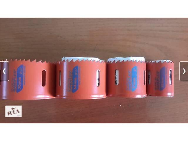 Коронка по металлу Bi-металлическая Bahco Sandflex-4 шт+1 сверло .(Knipex weidmuller wiha wera)