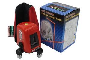 Лазерный уровень/нивелир Acuangle A8826D c чехол и батарейками (Новый)