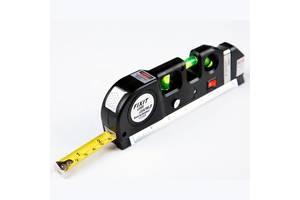 Лазерный уровень нивелир Fixit Laser Level Pro PR0 3: лазерный уровень, жидкостный уровень, рулетка (mdr_0513)