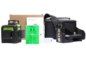 Лазерный уровень/нивелир зеленый луч Huepar HP-903CG 5200mAh 3*360