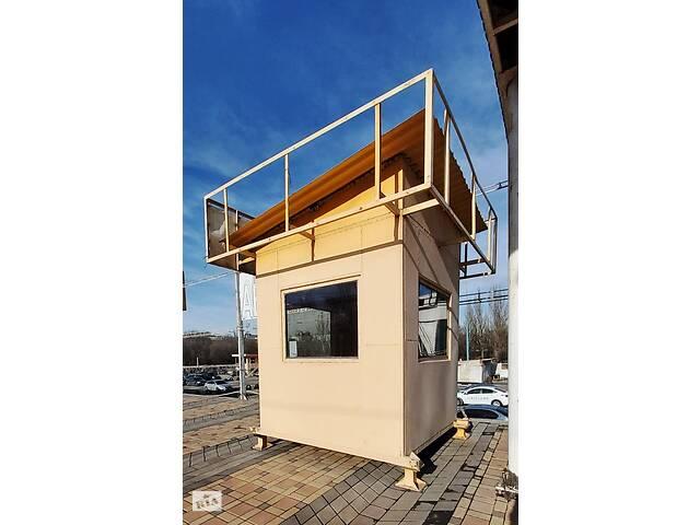 Металлический домик /офис/ пост охраны/ бытовка