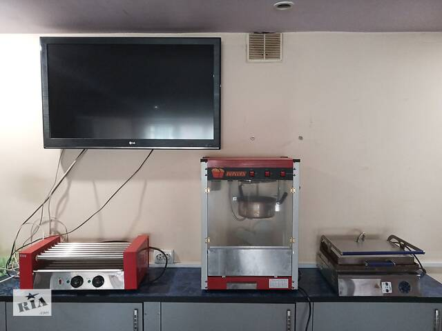 Оборудование для приготовления попкорна- объявление о продаже  в Северодонецке