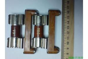 Предохранитель с держателем со сменным плавким элементом 6а,20а ~500в