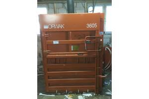 Продам пресс для вторсырья Orwak 3605 Орвак