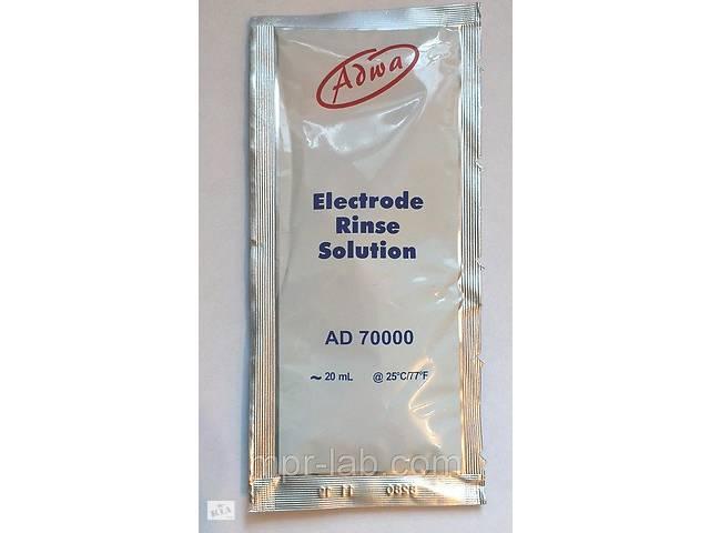 купить бу Раствор для очистки электродов РН-метров и ОВП-метров ADWA AD70000 V-20 мл Венгрия в Львове