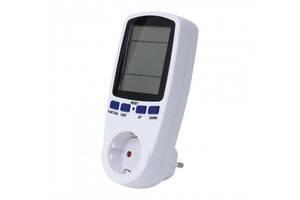 Счетчик электроэнергии розеточный Feron TM55  (004662_gr)