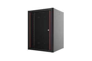 "Шкаф MIRSAN WTN 19"" 9U 600x450, RAL 9005 (MR.WTN09U45DE.01)"